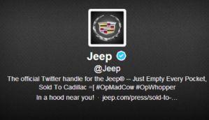 Hackean la cuenta de Twitter de la marca Jeep