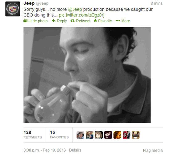 Hackean la cuenta de Twitter de la marca Jeep - hackean-cuenta-jeep