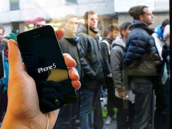 El iPhone 5 vuelve a ser el teléfono más vendido en todo el mundo - iPhone-5-ventas