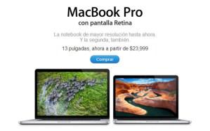 Apple baja de precio a los MacBook Pro Retina y los MacBook Air