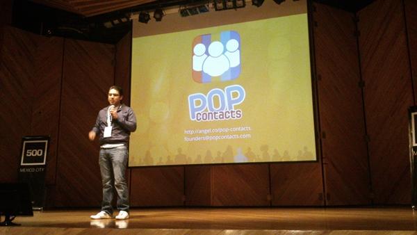 Conoce a las compañías presentadas en el primer Demo Day de 500 Mexico City - pop-contacts-demoday-500-mexico-city