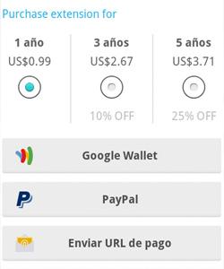 WhatsApp para Android añade la opción de pagar por 3 o 5 años de servicio - 1363255445_0