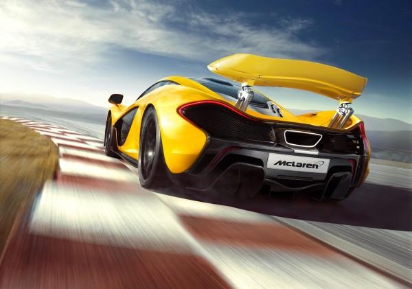 McLaren P1, el automóvil del millón de euros más rápido que un automóvil Formula 1 - Adelanto_McLaren_P1_5-600x421