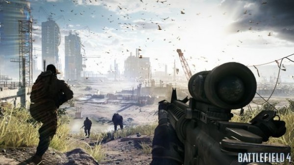 Battlefield 4 presenta espectaculares videos con gameplay que confirman el juego para 2013 - Battlefield-4-gameplay-1-600x337