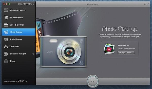 Limpia y optimiza tu Mac con CleanMyMac 2 - CleanMyMac