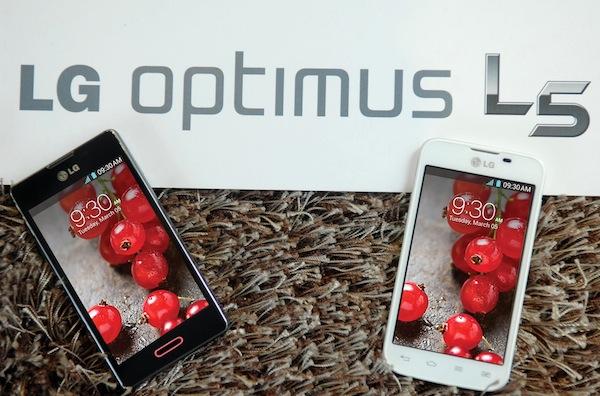 LG Optimus L5 X es presentado en México - LG_L5X