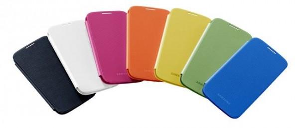 Accesorios oficiales para Samsung Galaxy S IV - Samsung-Flip-Cover-600x257