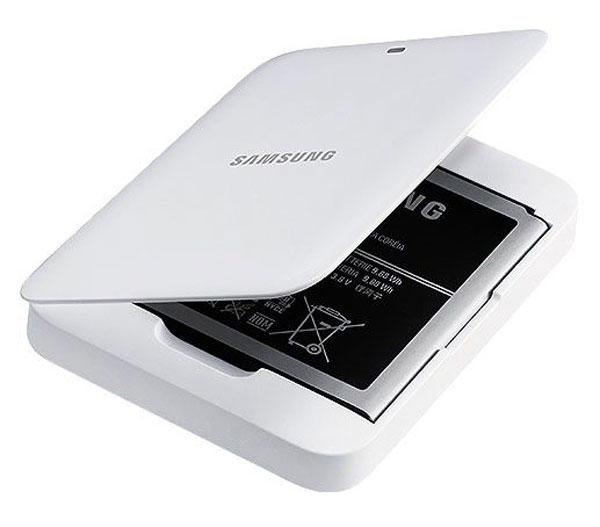 Accesorios oficiales para Samsung Galaxy S IV - Samsung-Galaxy-S4-Samsung-Extra-Battery-Kit