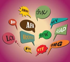 El significado de algunas abreviaturas utilizadas en correos electrónicos