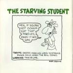 Matt Groening creador de Los Simpson, también diseñó para Apple - apple-the-starving-student-matt-groening