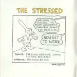 Matt Groening creador de Los Simpson, también diseñó para Apple - apple-the-stressed-matt-groening