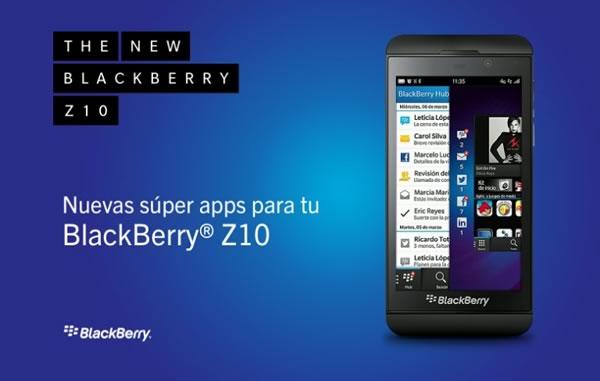 BlackBerry 10 ya cuenta con más de 100,000 aplicaciones en BlackBerry World - apps-blackberry-z10