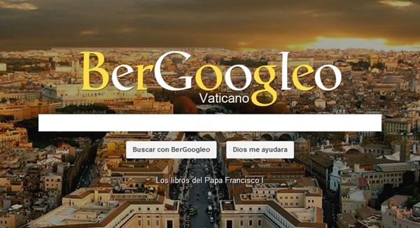 BerGoogleo, el nuevo buscador del Papa Francisco - bergoogleo-buscador-papa-francisco