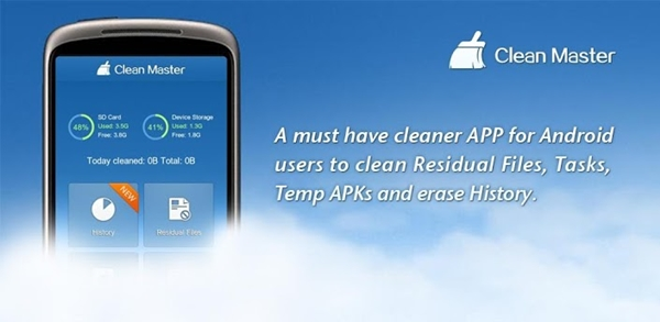 Como liberar memoria en Android con Clean Master - clean-master-liberar-memoria-android