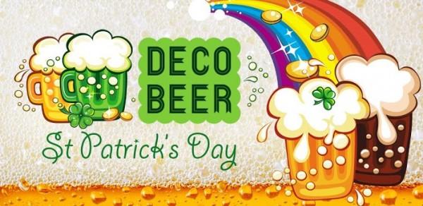 Celebra el día de San Patricio con DecoBeer - decobeer-600x292