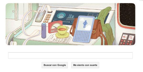 Google homenajea a Douglas Adams con un Doodle muy espacial - doodle-google-douglas-adams