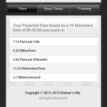 "Aplicación para calcular el ""pace"" adecuado para romper tu récord como corredor [Android] - running-pace2"
