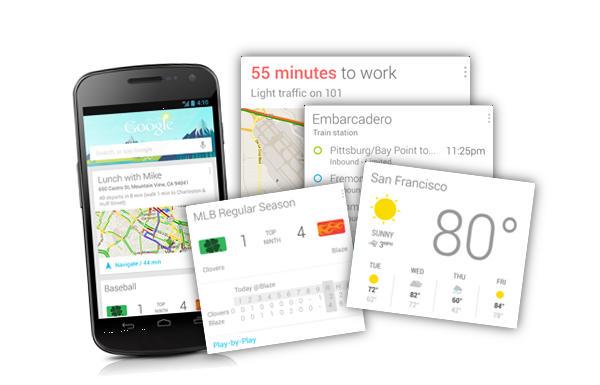 Google Search para Android se actualiza con nuevas funciones para Google Now en español - Google-Now-Actualizacion