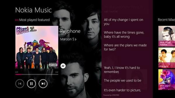 Nokia Music para Windows 8 y RT es lanzado oficialmente - Nokia-Music