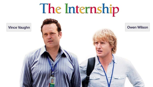 The Intership Película de Google estrena segundo tráiler (The Internship)