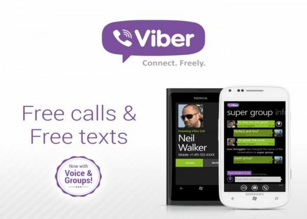 Viber para Windows Phone 8 a partir de esta semana - Viber-600x428
