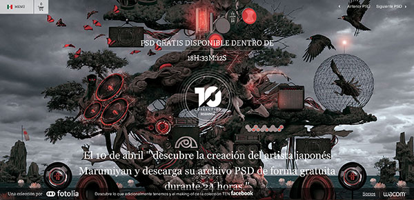 Fotolia TEN Collection presenta al artista digital japonés, Marumiyan - fotolia-muriyama