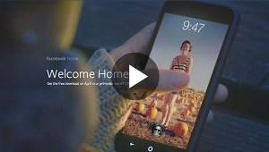 Ve la presentación del nuevo Facebook Home para Android