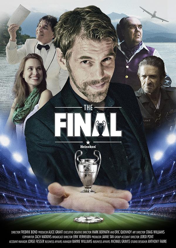 """¿Qué """"Camino a la Final"""" tomarás para la Champions? Heineken nos pone a prueba en su nueva campaña - roadtothefinall"""