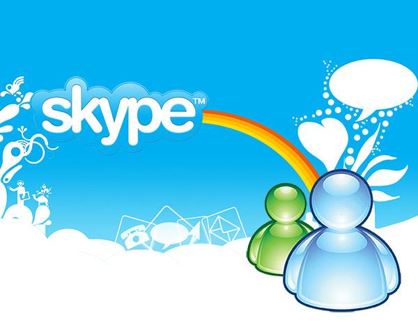 El adiós a MSN Messenger y Hotmail y la bienvenida a Skype y Outlook [Infografía] - skype-msn-messenger