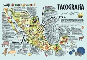 Diferentes tipos de tacos en México [Tacografía]