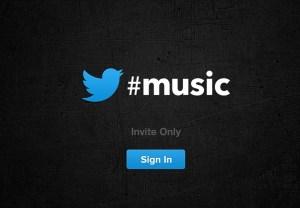 Twitter Music es lanzado pero aun no puede utilizarse