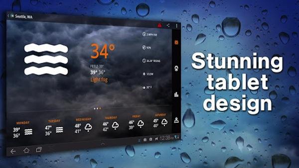 1Weather, genial aplicación para ver el clima en Android - 1weather-2
