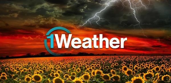 1Weather, genial aplicación para ver el clima en Android - 1weather