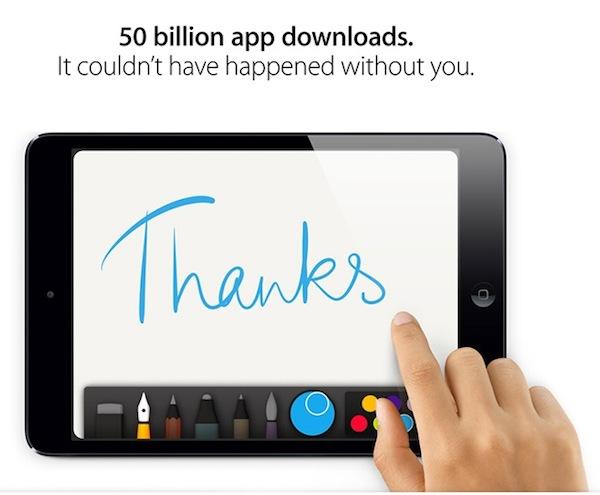 App Store de Apple llega a las 50 mil millones de descargas - App-Store-50-mil-millones