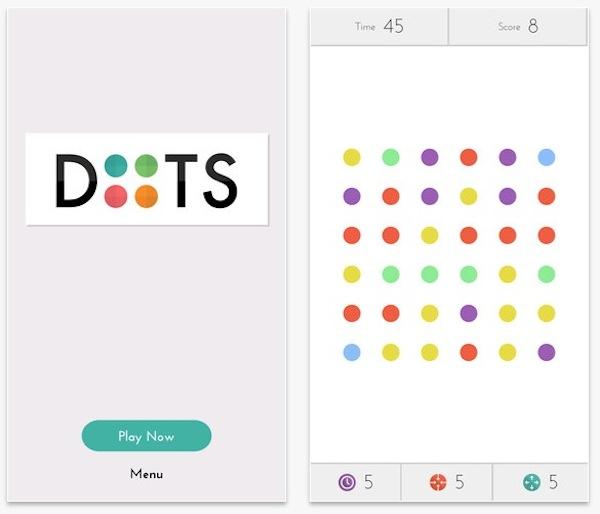 Dots, un nuevo juego adictivo para iPhone - Dots