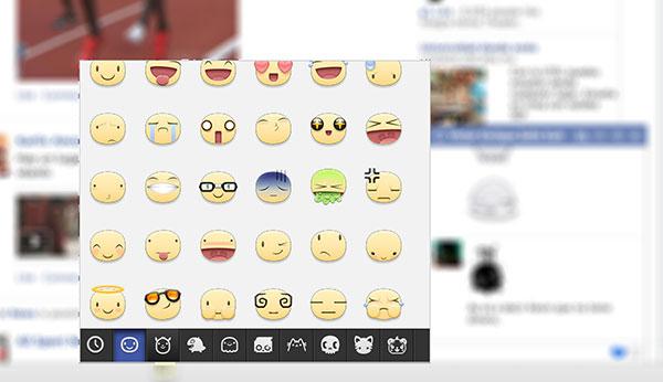 Cómo enviar stickers en el chat de Facebook desde Chrome - facebook-stickers