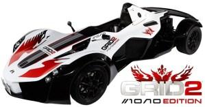 GRID 2: Mono Edition, la edición especial del videojuego incluye un automóvil de verdad