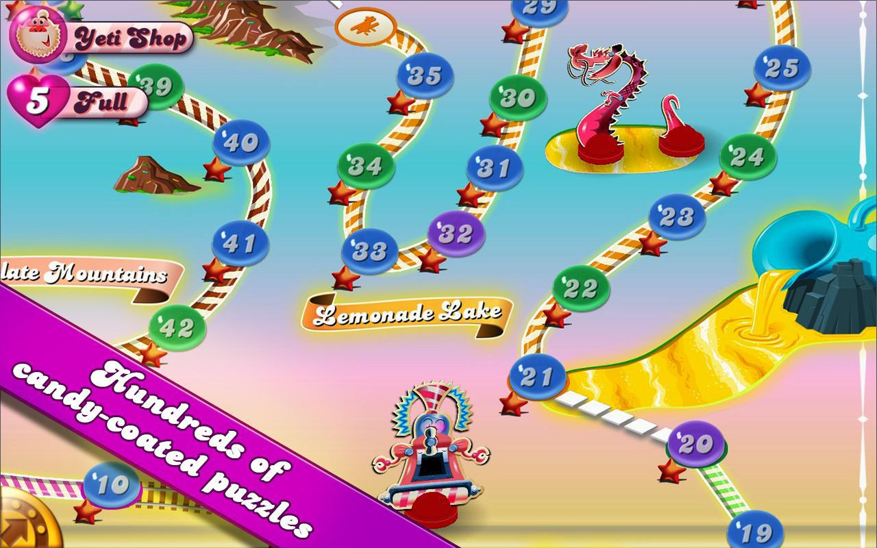 Candy Crush, un juego altamente adictivo y multiplataforma