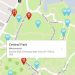 Planea las actividades de tu viaje con TouristEye - touristeye-map
