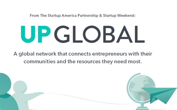 Llega UP Global, plataforma que enlaza emprendedores alrededor del mundo - up-global-startup-weekend-startup-america-partnership