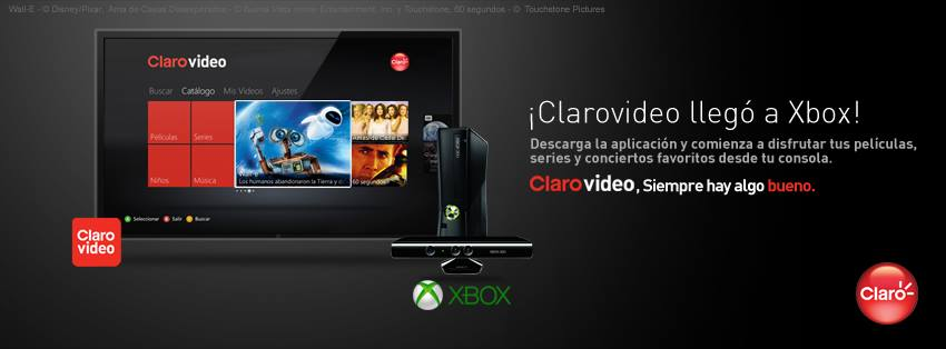 Clarovideo estará disponible en Xbox Live - 1010926_10152034461024816_554716700_n