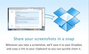 Nueva beta de Dropbox permite a los usuarios compartir capturas de pantalla