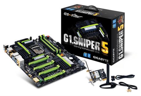 Gigabyte presenta sus nuevas tarjetas madre, G1 Sniper 5 y G1 Sniper M5 - G1-Sniper-5