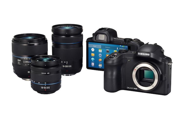 Samsung Galaxy NX, la primera cámara réflex con Android - GALAXY-NX