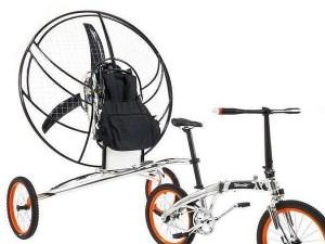 Inventan una segunda bicicleta voladora, la XploreAir Paravelo