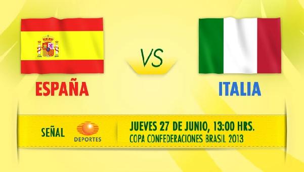 espana italia en vivo copa confederaciones 2013 Ver España vs Italia en vivo, Copa Confederaciones 2013