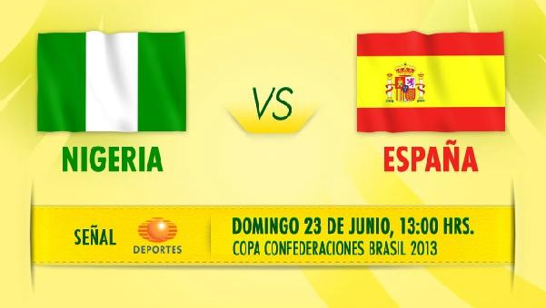 espana nigeria en vivo confederaciones 2013 Ver España vs Nigeria en vivo, Copa Confederaciones 2013