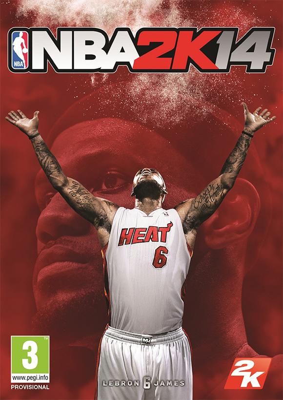 LeBron James estará en la portada de NBA 2K14 - nba-2k14-portada