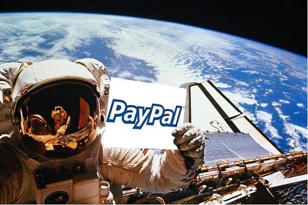 Presentan PayPal Galactic, la nueva plataforma de pago para los que viajen al espacio - pay-pal-galactic