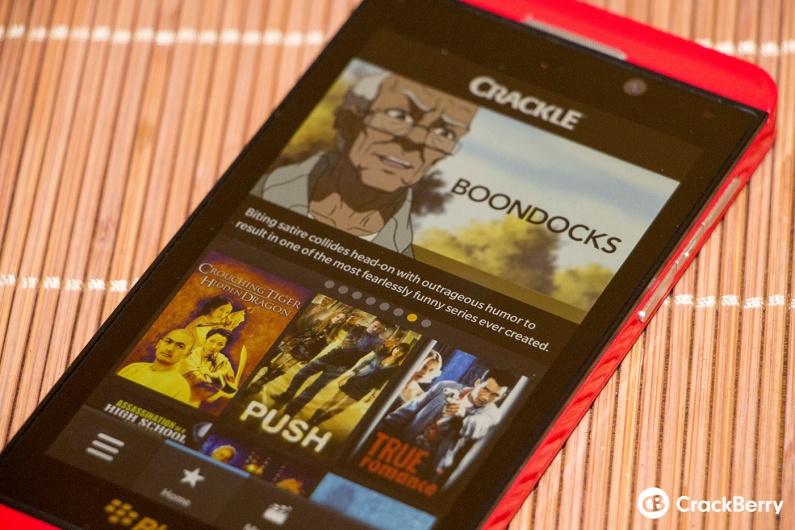 BlackBerry y Sony presentan la aplicación de Crackle para BlackBerry 10 - Crackle_10